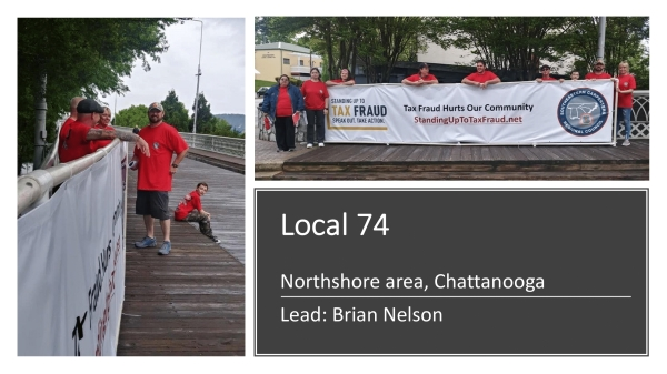 Well Done Local 74 Volunteers!