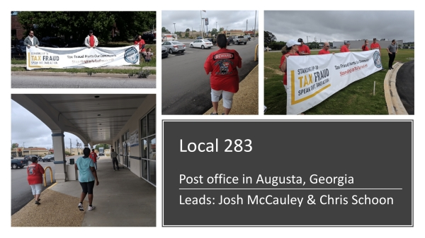 Well Done Local 283 Volunteers!